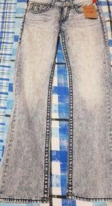 True religions brand jeans straight 30 rocky mist